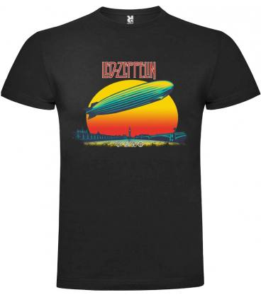 Led Zeppelin London Camiseta Manga Corta Bandas