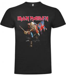 Iron Maiden The Trooper Camiseta Manga Corta Bandas