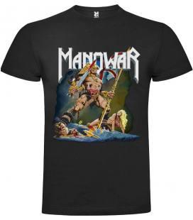 Manowar Hail To England Camiseta Manga Corta Bandas