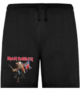 Iron Maiden The Trooper Bermudas