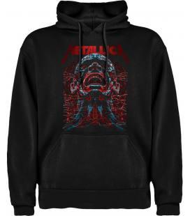 Metallica Scream Sudadera con capucha y bolsillo