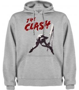 The Clash Guitar Sudadera con capucha y bolsillo