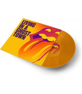 """Living In A Ghost Town (1 LP Sided 10"""" Orange Coloured)"""
