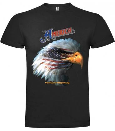 America Ventura Highway Camiseta Manga Corta Bandas