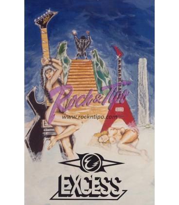 Postal Excess - Colección Hard Rock Español