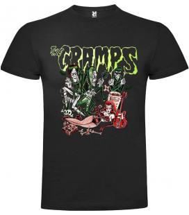 The Cramps Band Camiseta Manga Corta Bandas