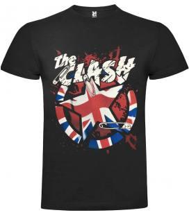 The Clash Pin Camiseta Manga Corta Bandas