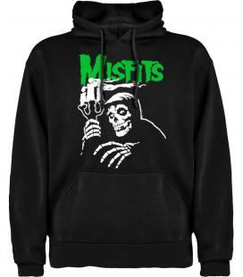 Misfits Candle Sudadera con capucha y bolsillo