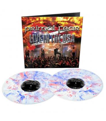 Live In The Usa (2 LP White&Blue y Red Marbled)