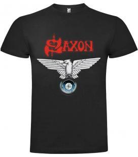 Saxon Wheels of Steel Camiseta Manga Corta Bandas