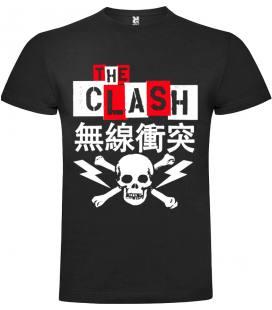 The Clash Japan Camiseta Manga Corta Bandas