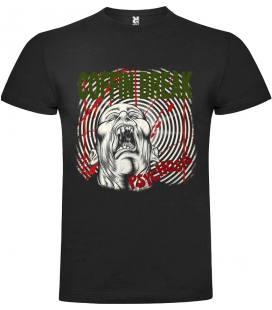 Coffin Break Psychosis Camiseta Manga Corta Bandas