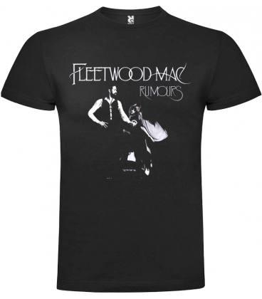 Fleetwood Mac Rumours Camiseta Manga Corta Bandas