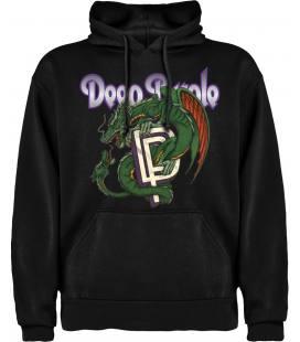 Deep Purple dragons Sudadera con capucha y bolsillo