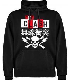 The Clash Japan Sudadera con capucha y bolsillo