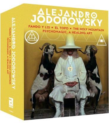 Alejandro Jodorowsky: 4K Restoration Collection (Box Set 4 Blu Ray+2 CD)