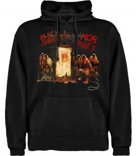 Black Sabbath Mob Rules Sudadera con capucha y bolsillo