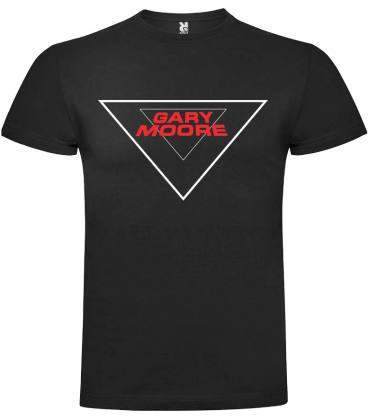 Gary Moore Logo Camiseta Manga Corta Bandas