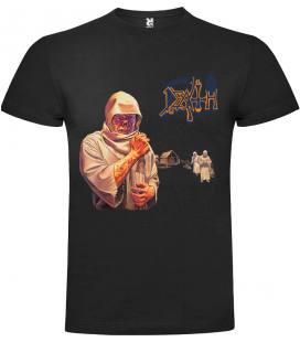 Death Leprosy Camiseta Manga Corta Bandas