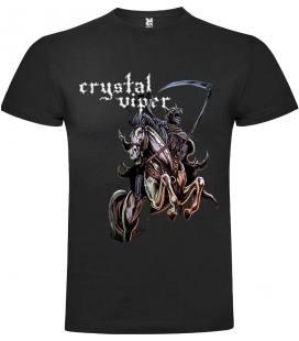 Crystal Viper Horse Camiseta Manga Corta Bandas