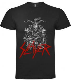 Slayer Belcebú Camiseta Manga Corta Bandas