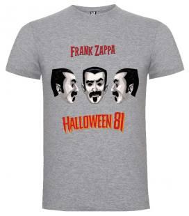 Frank Zappa Halloween 81 Camiseta Manga Corta Bandas