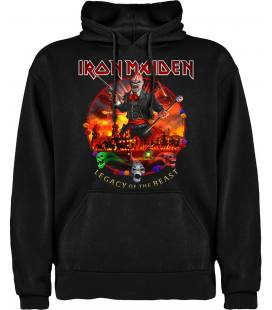 Iron Maiden Nights Of The Dead Sudadera con capucha y bolsillo