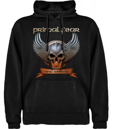 Primal Fear Metal Commando Sudadera con capucha y bolsillo