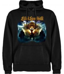 Blind Guardian At the Edge of Time Sudadera con capucha y bolsillo