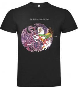 Bob Marley Confrontation Camiseta Manga Corta Bandas