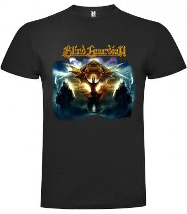 Blind Guardian At the Edge of Time Camiseta Manga Corta Bandas