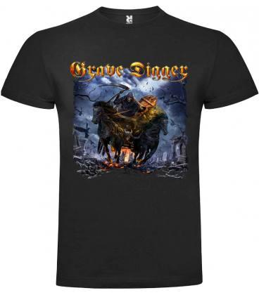 Grave Digger Return Of The Reaper Camiseta Manga Corta Bandas