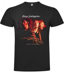 Rory Gallagher Photo-Finish Camiseta Manga Corta Bandas - Talla M