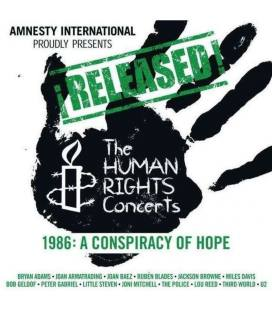 Released! The Human Rights Concerts 1988: Human Rights Now! (1 CD+1 BLU RAY)