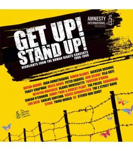 Get Up! Stand Up! (Highlights From The Human Rights Concerts 1986-1998) (1 CD+1 BLU RAY)