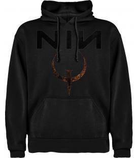 Nine Inch Nails Quake Sudadera con capucha y bolsillo