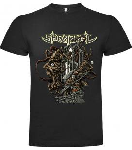 Shrapnel Palace For The Insane Camiseta Manga Corta Bandas