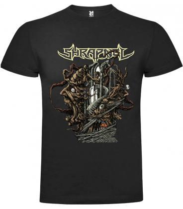 Shrapnel Palace For The Insane Camiseta Manga Corta Bandas