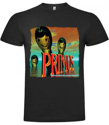 Primus Tales from the Punchbowl Camiseta Manga Corta Bandas