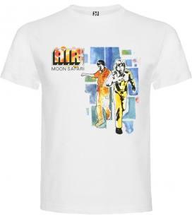 Air Moon Safari Camiseta Manga Corta Bandas