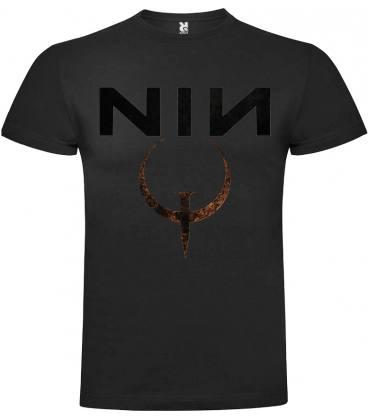 Nine Inch Nails Quake Camiseta Manga Corta Bandas