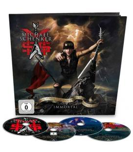 Immortal (1 Blu Ray+3 CD Earbook)