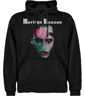 Marilyn Manson We Are Chaos Sudadera con capucha y bolsillo