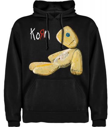 Korn Issues Sudadera con capucha y bolsillo