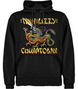 Thin Lizzy Chinatown Sudadera con capucha y bolsillo