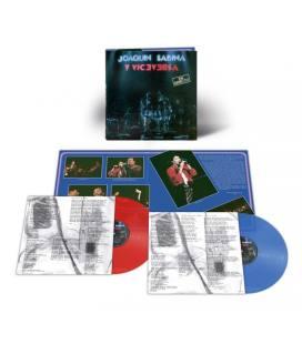 Joaquin Sabina y Viceversa en Directo (2 LP Rojo y Azul)