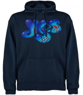 Yes Logo Sudadera con capucha y bolsillo