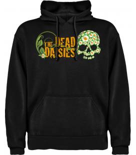 The Dead Daisies Logo Sudadera con capucha y bolsillo