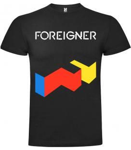 Foreigner Agent Provocateur Camiseta Manga Corta Bandas