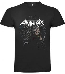 Anthrax King Camiseta Manga Corta Bandas
